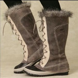 Sorel cate the great tusk gray ivory 6